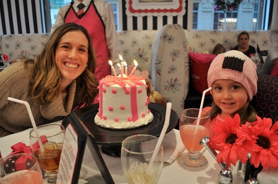 American Girl Cafe Birthday Experience
