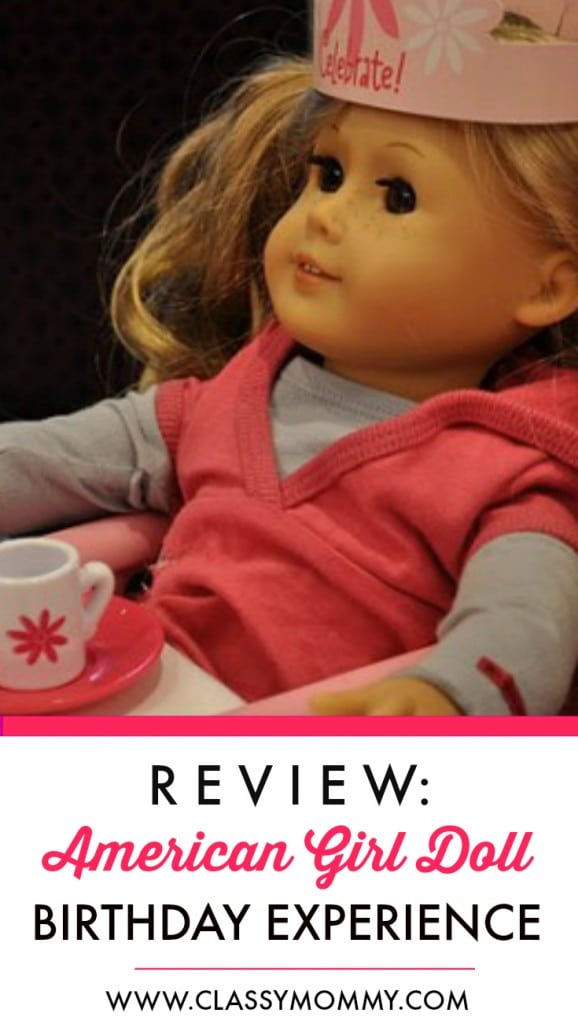 American Girl Cafe Birthday Experience Details