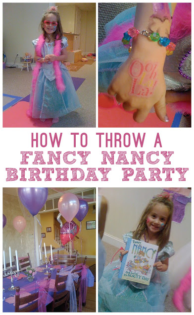 How to throw a Fancy Nancy birthday party