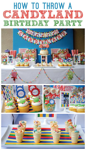 How to throw a Candyland Birthday Party