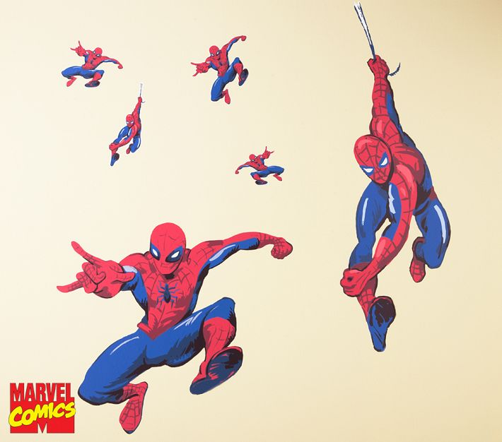 Spiderman Wall Decals Classy Mommy