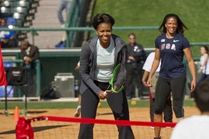 Michelle Obama at Disney