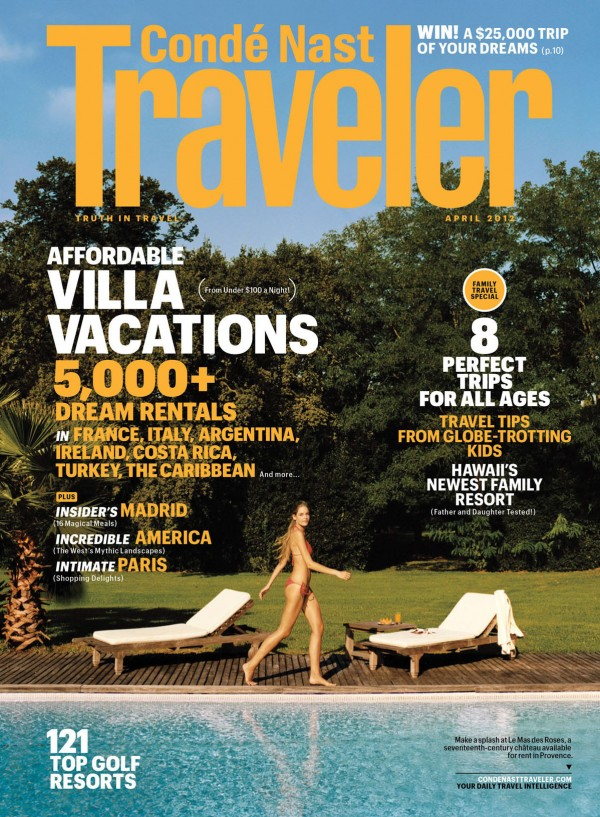 conde nast family traveler