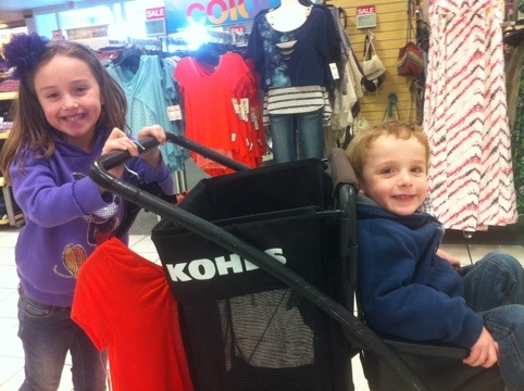 Kids Fashion Haul The kids had a blast shopping