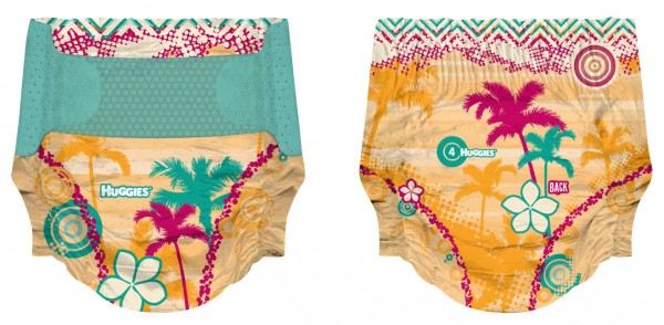 Huggies Hawaiian Diapers
