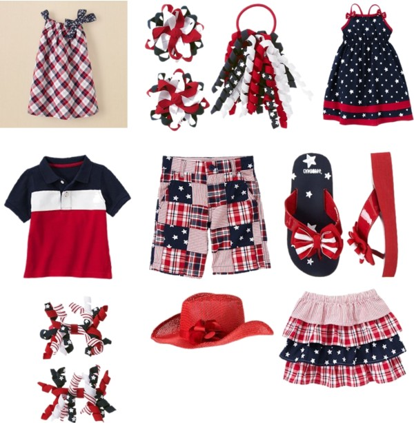 4th of july kids fashion