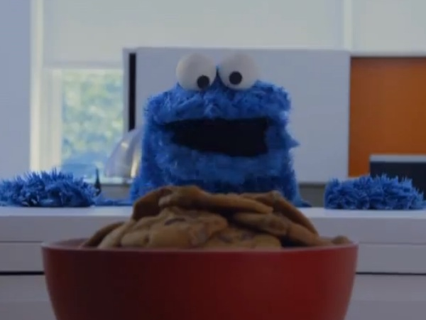 Cookie Monster Call me Maybe