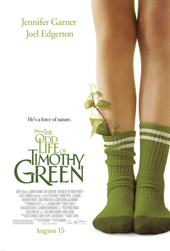 Odd Life of Timothy Green Movie Poster