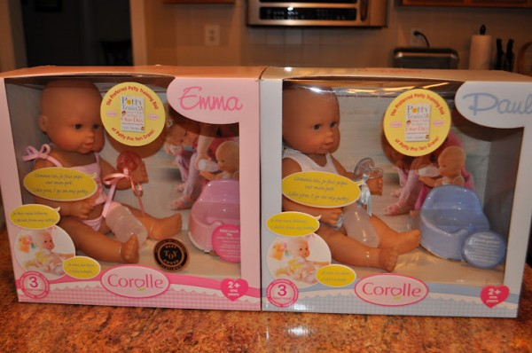 corolle potty training dolls