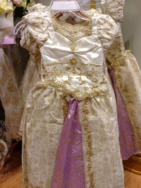 Rapunzel Wedding Costume