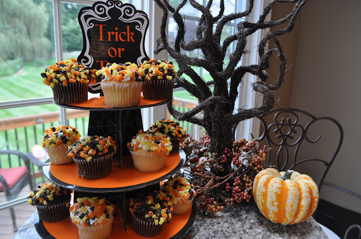 my secret shortcuts for baking serving halloween treats classy mommy - Martha Stewart Halloween Cakes