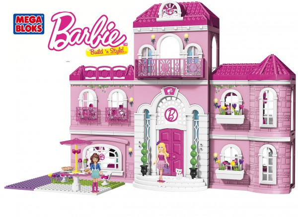 Barbie Mega Bloks mansion