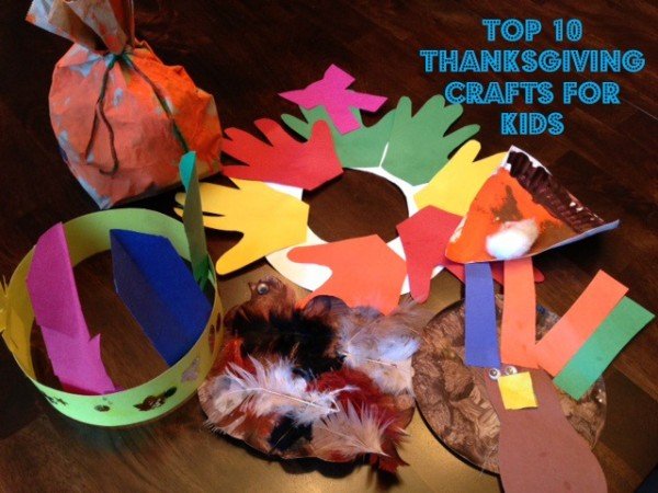 10 Best Thanksgiving Crafts for Kids