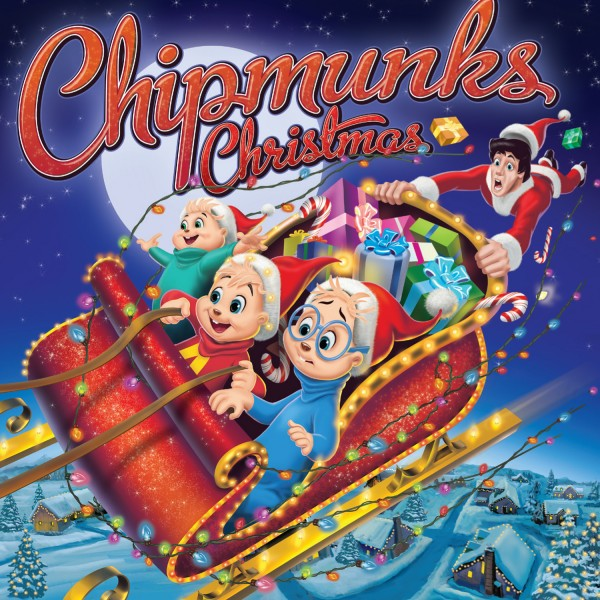 Chipmunks Christmas - cover art