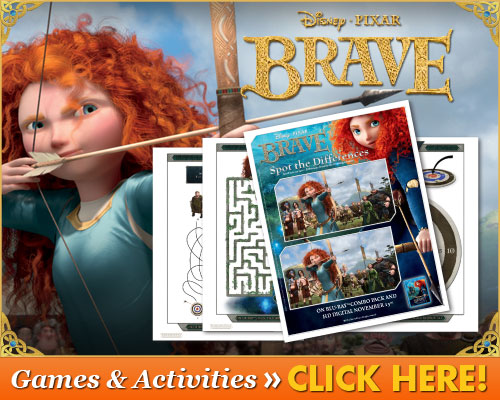 Free Disney Brave Printable Sheets