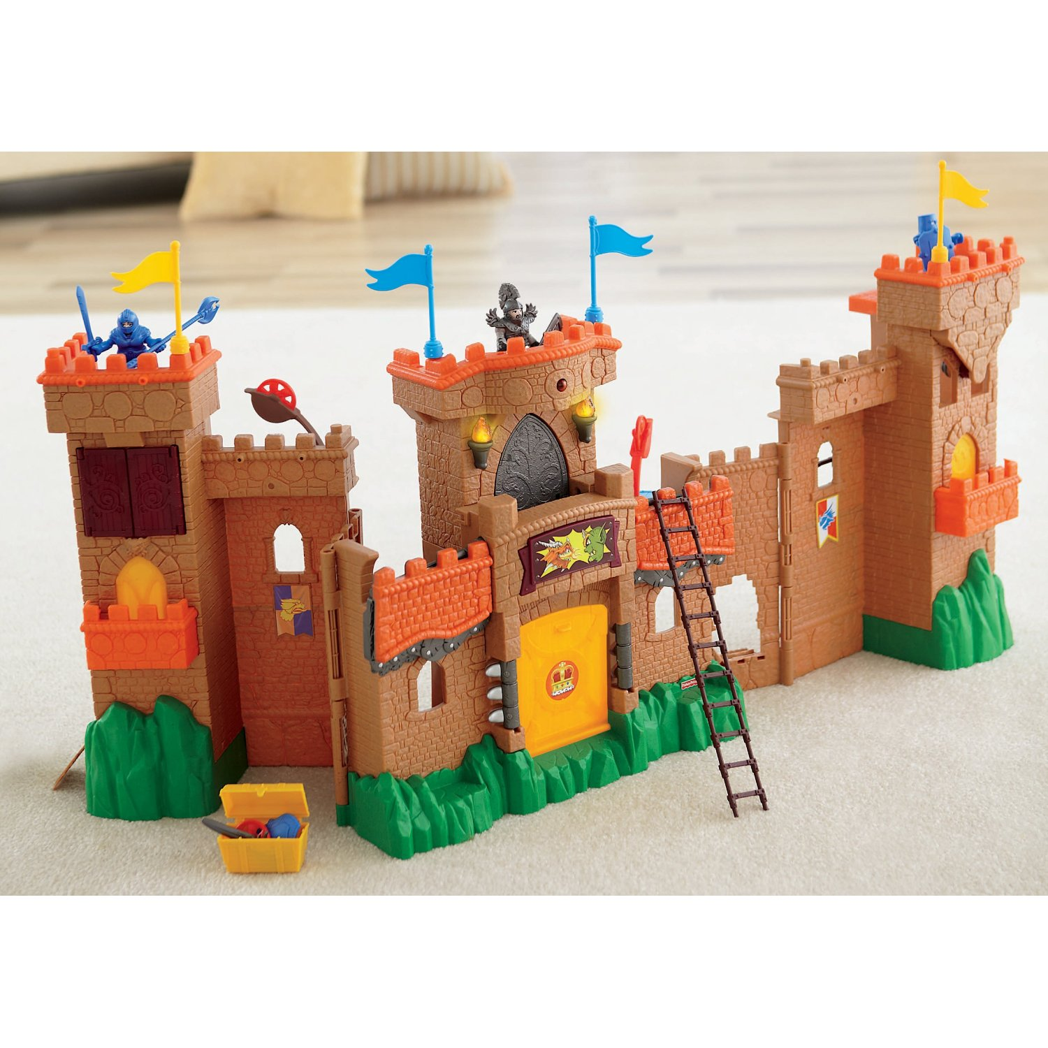 Imaginext Eagle Talon Castle Review And Giveaway Classy