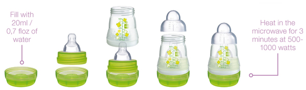 Mam Self Sterilizing Bottle