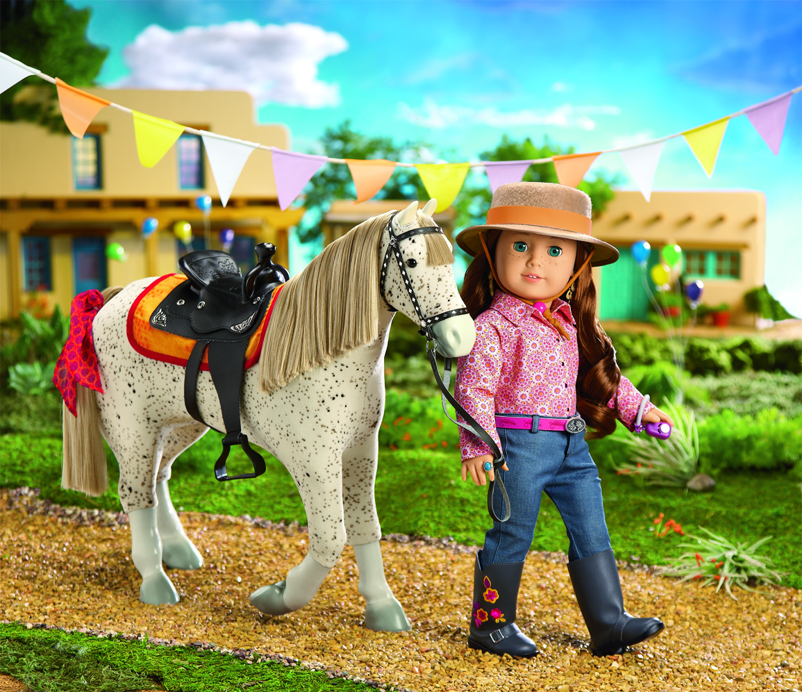 American Girl Saige's Horse Picasso