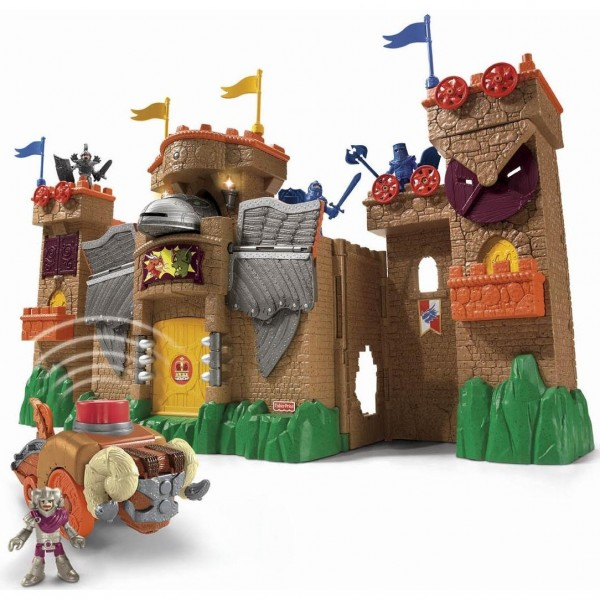 Toy Castles For Little Boys : Imaginext eagle talon castle review and giveaway classy