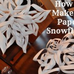 How to Make 3D Snowflakes instructions
