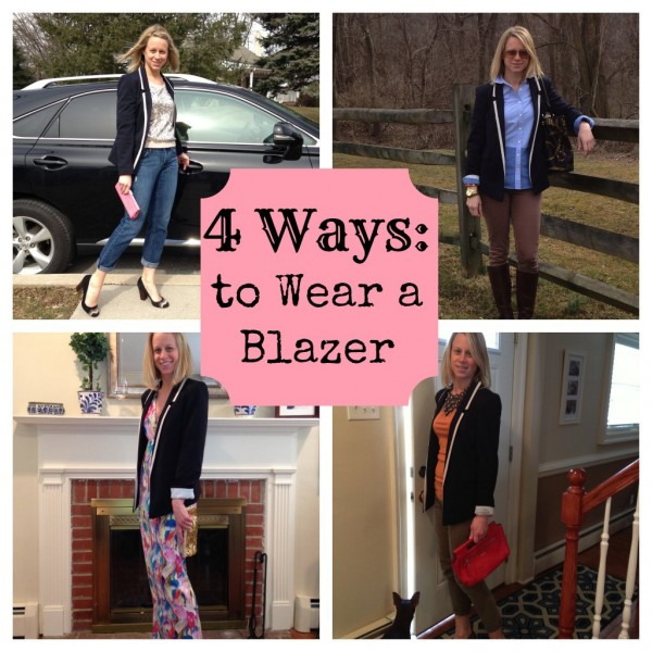 4 ways to wear a blazer