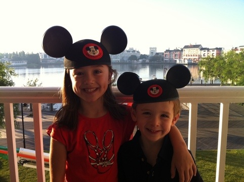 Disney Mouse Ears Morning
