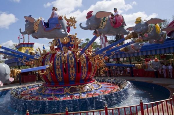 Disney's New Dumbo Interactive Queue