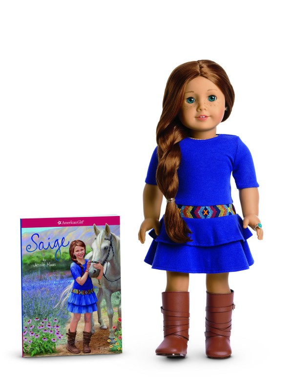 Saige American Girl Doll of the Year