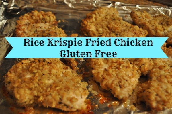 Gluten Free Rice Krispie Fried Chicken Recipe - Classy Mommy