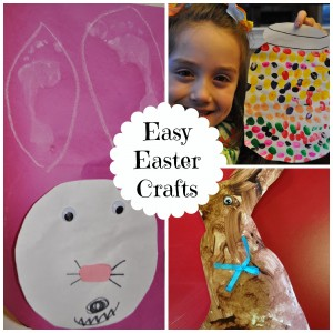 3 Easy Easter Crafts for Preschoolers - Classy Mommy