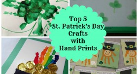 Best St Patrick's Day Hand Print Crafts