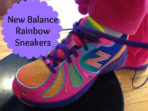New Balance Rainbow Running Shoes