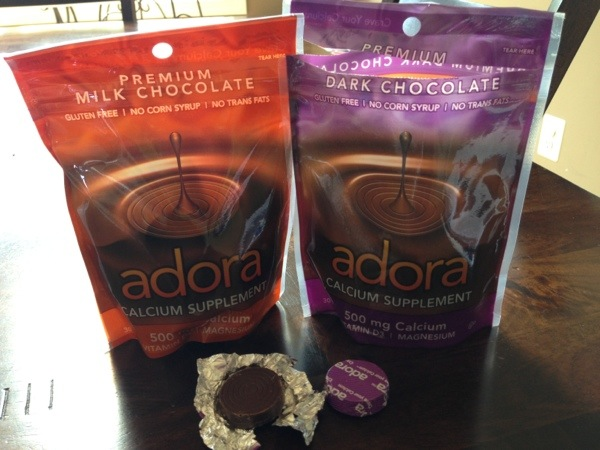 Adora Calcium Dark Chocolate supplements