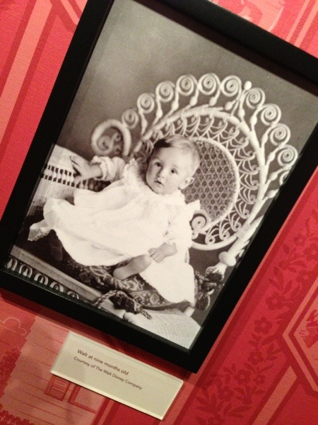 Baby photo Walt Disney