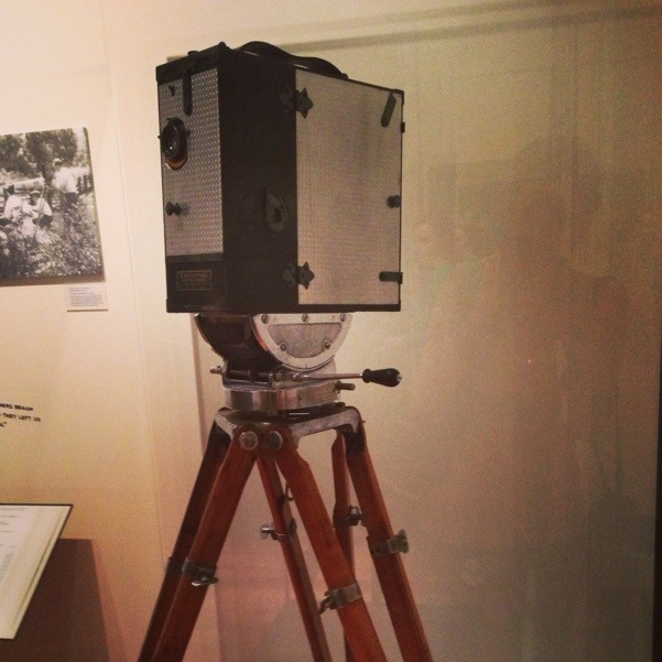 Original animation movie camera