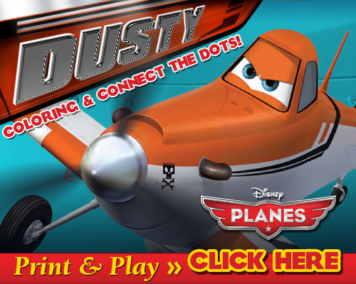 Disney Planes Free Coloring Pages