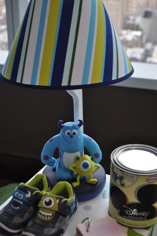 Disney nursery pixar : Monsters inc baby nursery