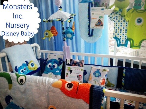 Monsters Inc Crib Bedding
