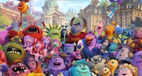 Monsters University Poster MU