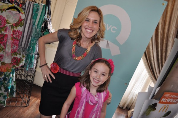 QVC STT scarves with Kenzie