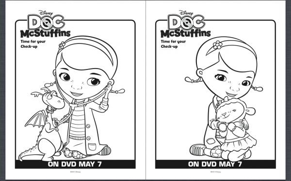 picture about Printable Doc Mcstuffins called Cost-free Printable Document McStuffins Coloring Webpages - Cly Mommy