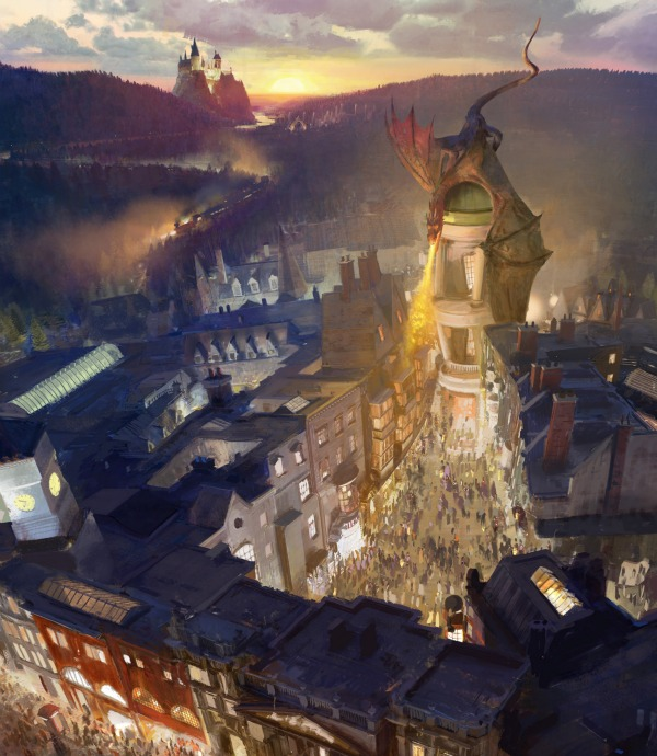 The Wizarding World of Harry Potter Diagon Alley Image