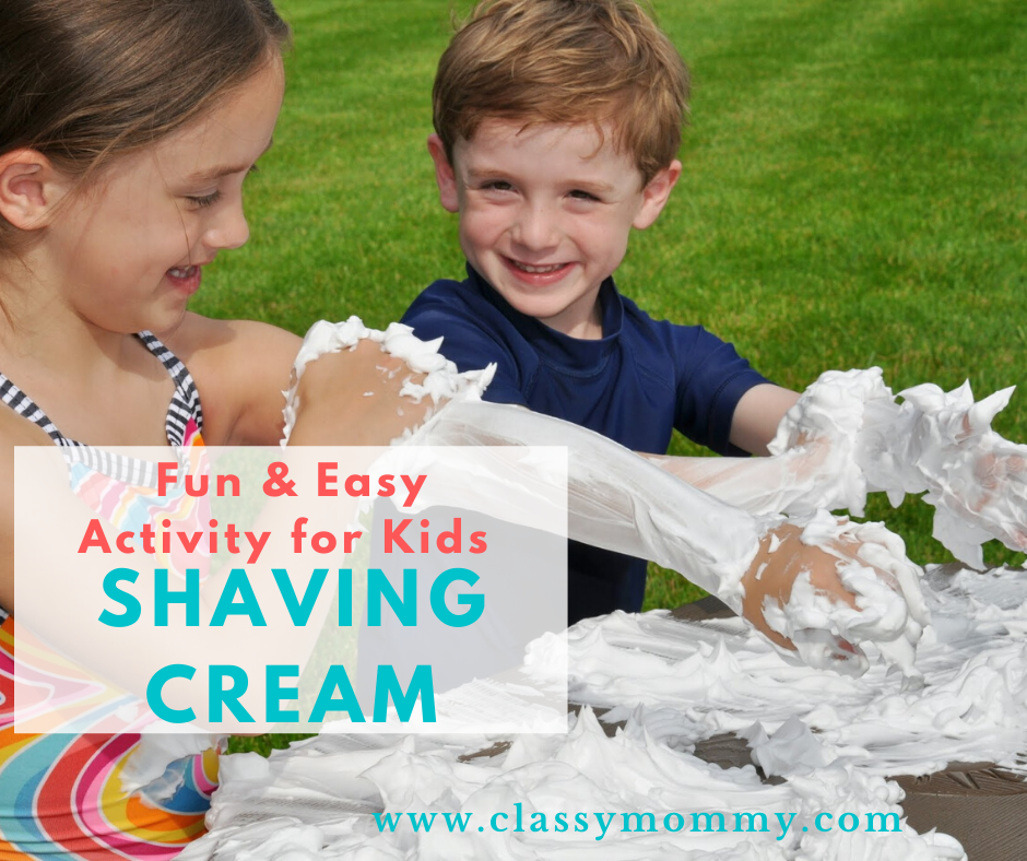 Shaving Cream Activity