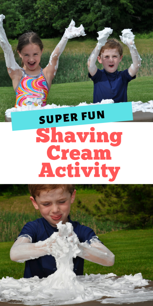 Super Fun Shaving Cream Activity for Kids - A