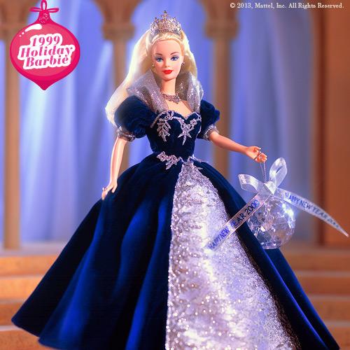 1999 Holiday Barbie