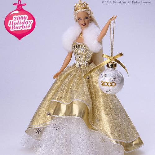 Celebrating 25 years of Holiday Barbie #HolidayBarbie ...