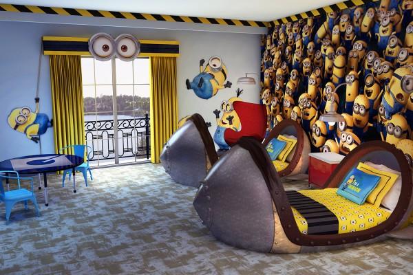 Despicable Me Hotel Room