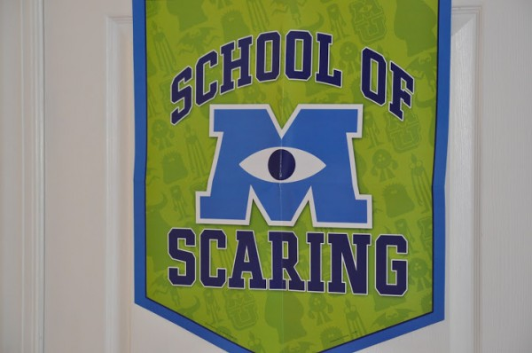 Monsters University School of Scaring Banner