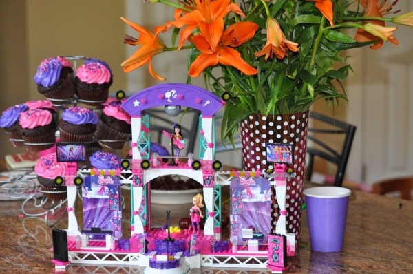 Barbie Mega Bloks Super Star Stage