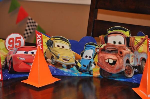 Cars Party Table Toppers